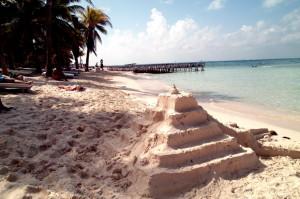 Sand ziggurat