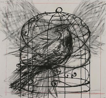 Drawing by William Kentridge.
